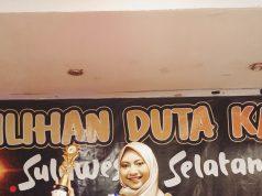 Wahyuni Perdani, Duta Kampus Berbakat Sulsel 2021. Foto: Ist.