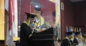 Nurdin Khalid, Ketua IKA UNM. (Foto: Agatoni Buttang-Profesi).