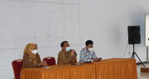 (Sambutan oleh Kepala Dinas Pendidikan Kab.Pangkep - Foto: Ainun Nurdzizati-Profesi)