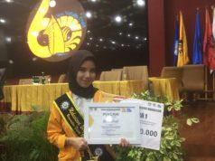 Nurul Alwiah Raih Juara Pilmapres 2021. (Foto: Ist).