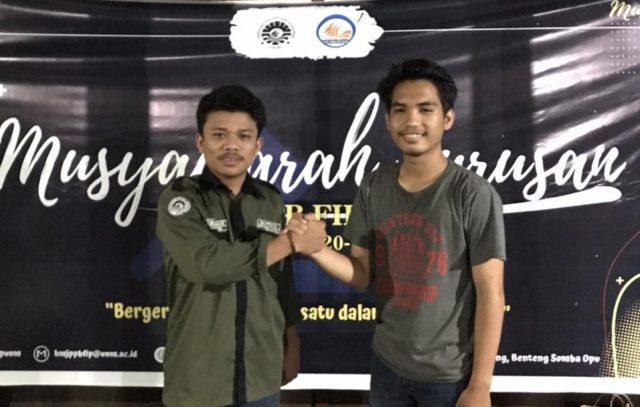 agung Surya salam, Ketua Umum Terpilih Saat Musyawarah Jurusan, Foto: Ist