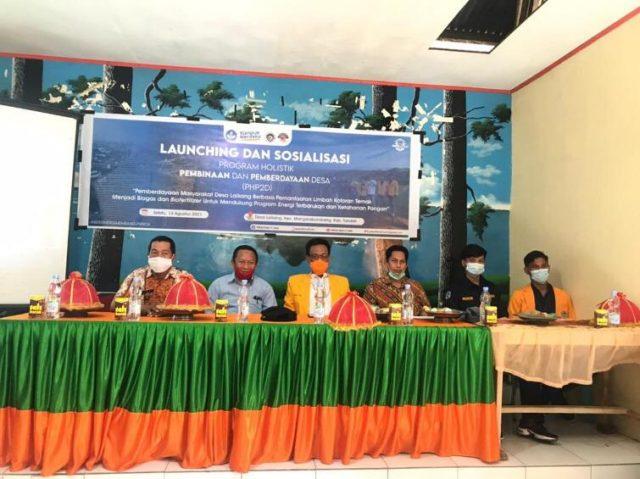launching dan sosialisasi pelaksanaan PHP2D di Balai Desa Laikang. (Foto: Ist).