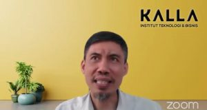 Rektor ITB Kalla, Syamril Saat Kuliah Umum Perdana Fakultas Psikologi UNM 2021 - (Foto-Ist)