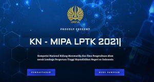 Buku Panduan KN-MIPA LPTK 2021 - (Foto-Int)