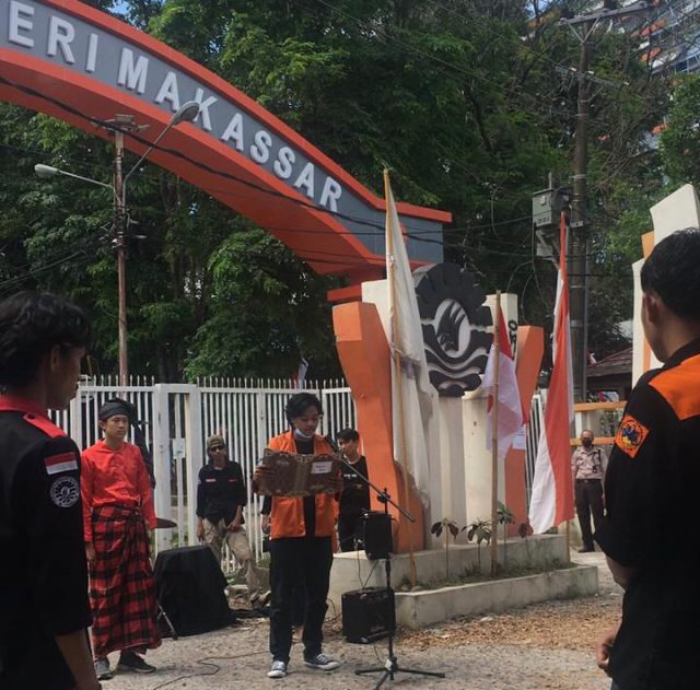 LK FBS UNM Independence Ceremony of the 76th Year - (Photo-Elfira)