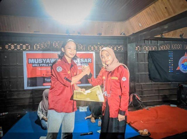 Muhajirin Terpilih Jadi Formatur Ketua Umum HIMA PPKn FIS-H. (Foto: Ist).