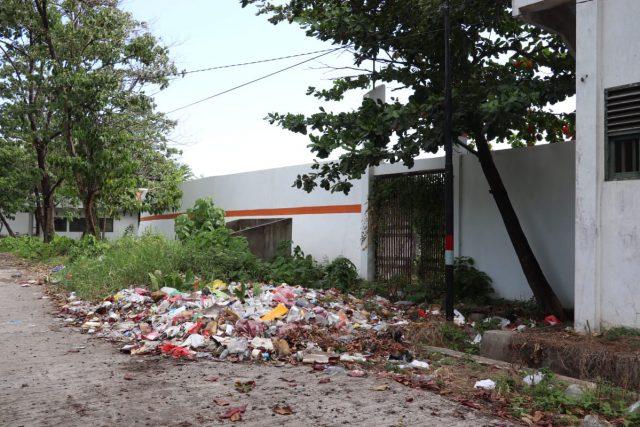 Tumpukan Sampah. (Foto: Fahmi)