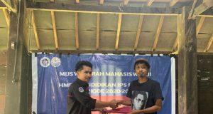 Foto: Sultan (kiri), Ketua Terpilih HMPS Pendidikan IPS FIS-H UNM. Foto: Ist.