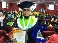 Arman Fadillah, Wisudawan Terbaik FIK. (Foto: Anugrah).